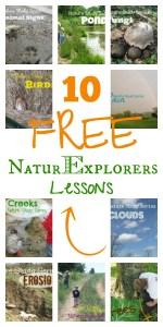 10 FREE NaturExplorers Lessons