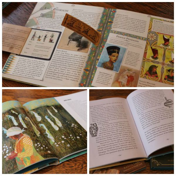 Teach biography writing using picture books as examples.
