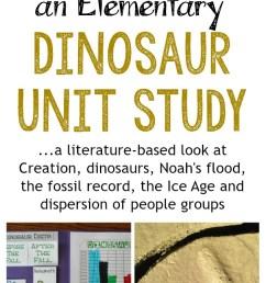 More Than Just a Dinosaur Unit Study - Our Journey Westward [ 1538 x 604 Pixel ]