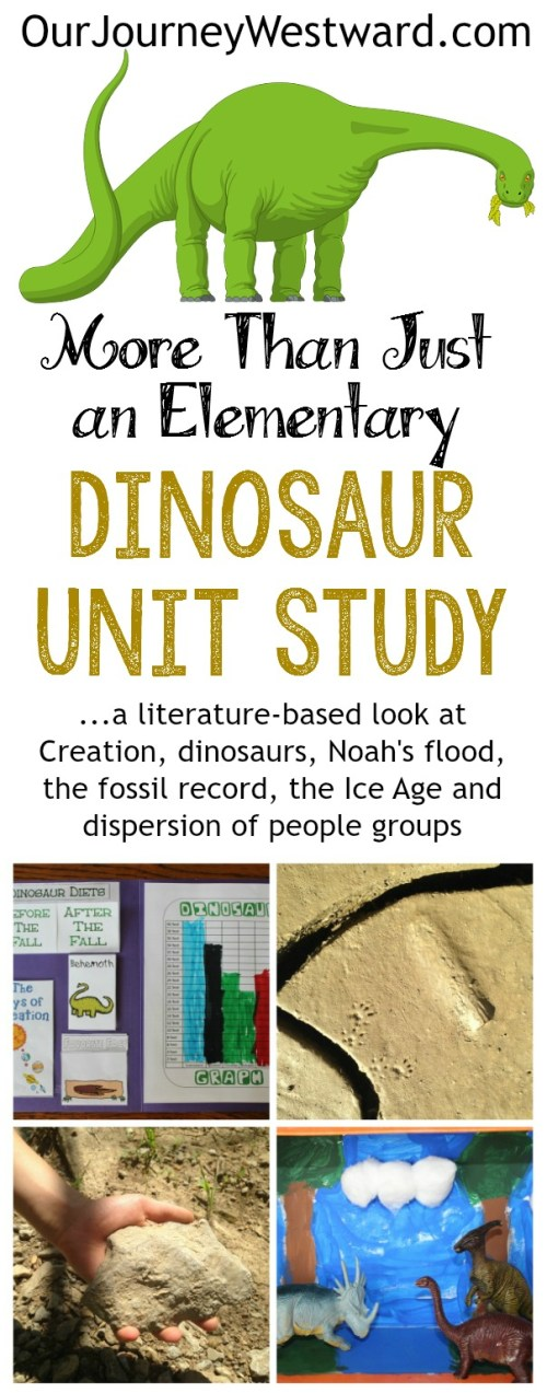 small resolution of More Than Just a Dinosaur Unit Study - Our Journey Westward
