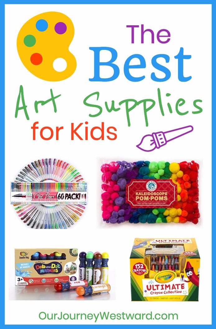 the best art supplies