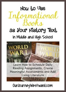 How to Use Informational Books as History Curriculum