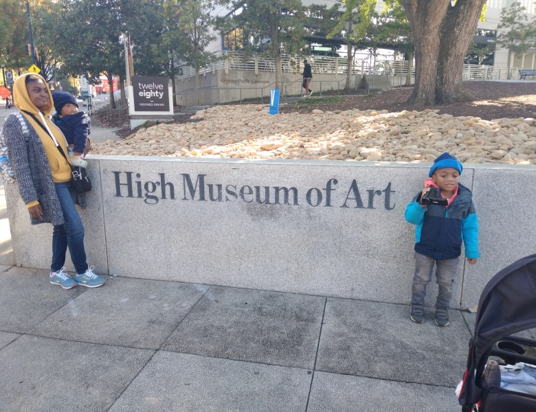 Our Trip to the High Museum of Art Atlanta
