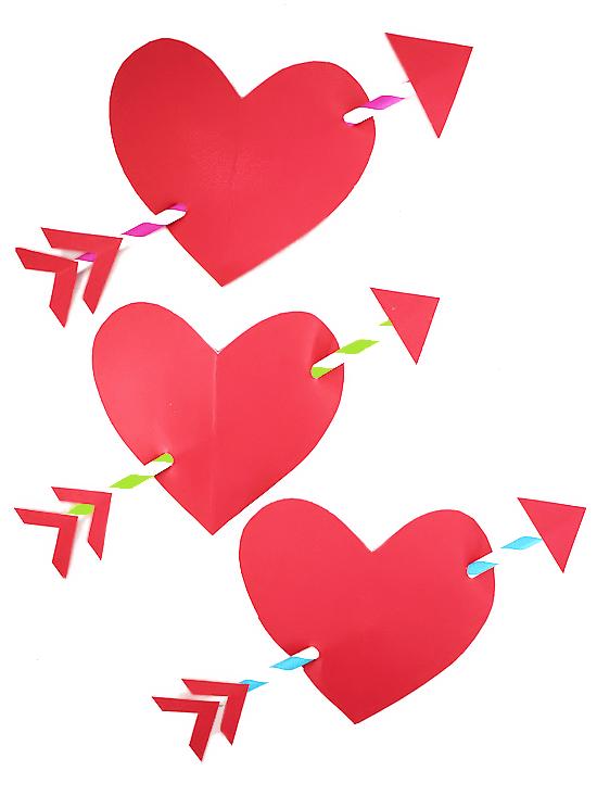 Girly Arrow : girly, arrow, Cupid's, Arrow, Heart, Craft, Things
