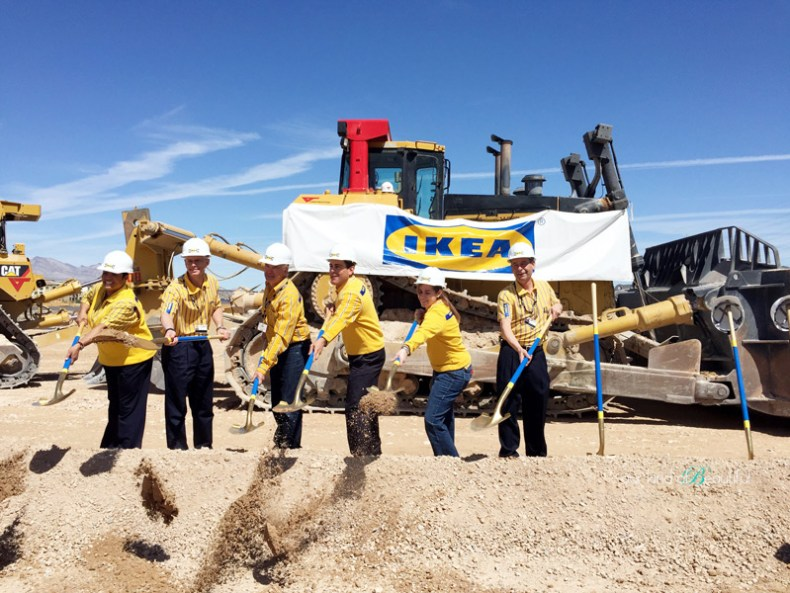 IKEA Las Vegas Ground Breaking Ceremony