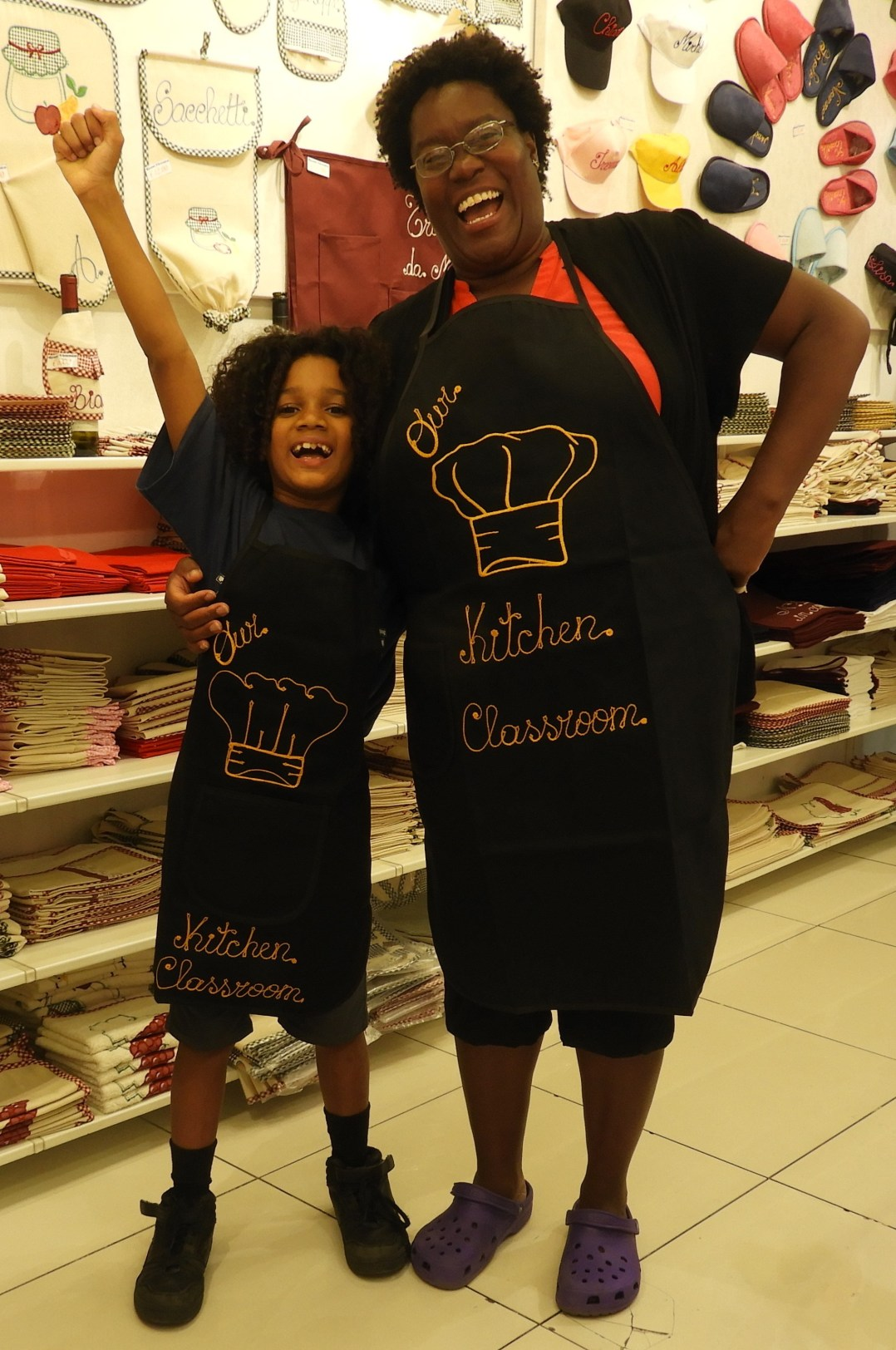 Our Kitchen Classroom Aprons