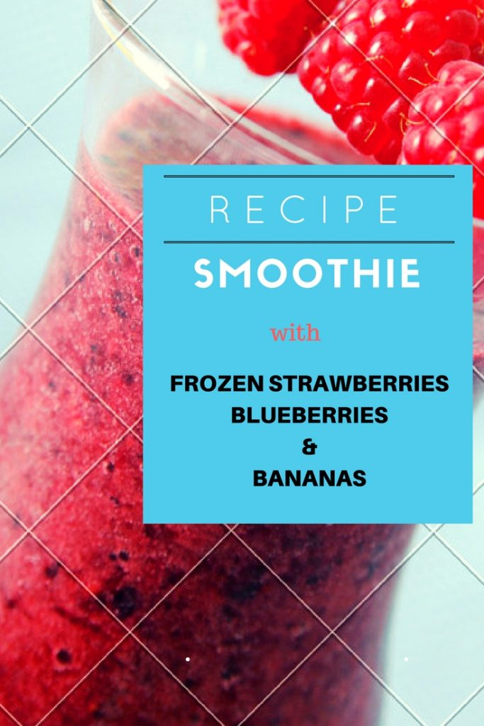 frozen strawberry smoothie recipe