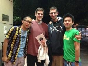 Ryo Nakata, Dan Hayami, Gu & Tom
