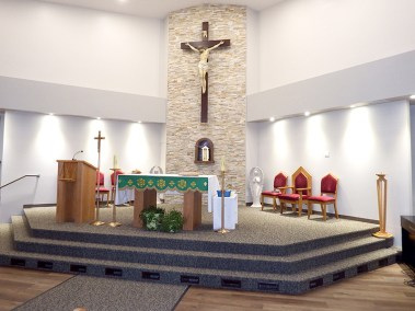 Our Lady of Peace - Catholic Church - Background Image - Innisfail, Alberta
