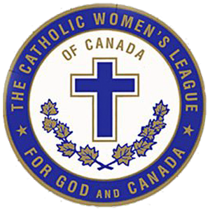 Our Lady of Peace - Catholic Church - CWL Logo - Innisfail, Alberta