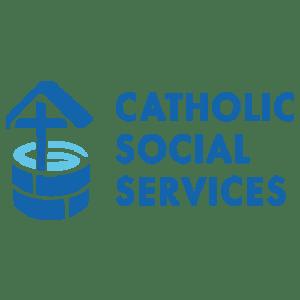 Our Lady of Peace - Catholic Church - Catholic Social Services Logo - Innisfail, Alberta