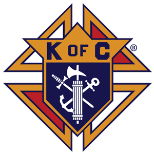 Our Lady of Peace - Catholic Church - Knights of Columbus Logo - Innisfail, Alberta