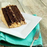 Chocolate Espresso Birthday Cake