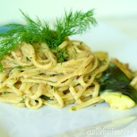 Creamy Lemon-Dill Linguini with Clams