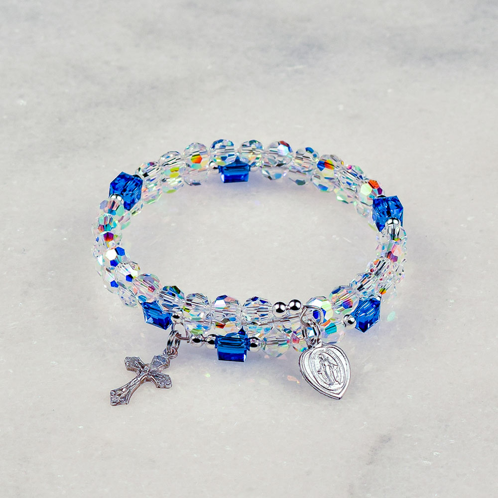Our Lady of the Rosary Bracelet