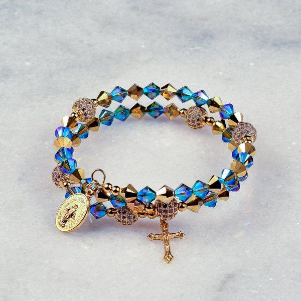 Regina Coeli Rosary Bracelet