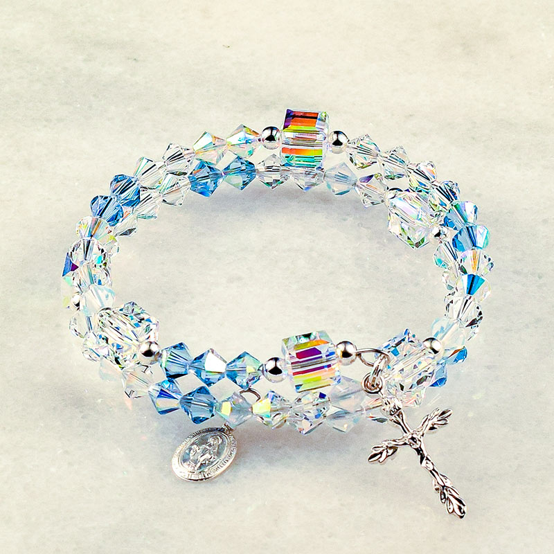 Immaculate Conception of Mary Rosary Bracelet