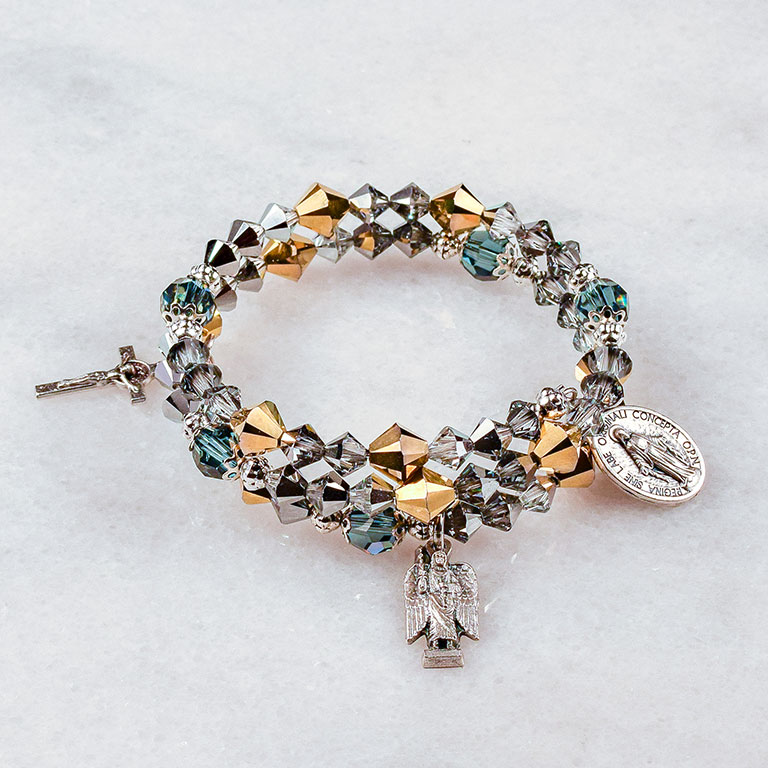 St. Michael the Archangel Rosary Bracelet