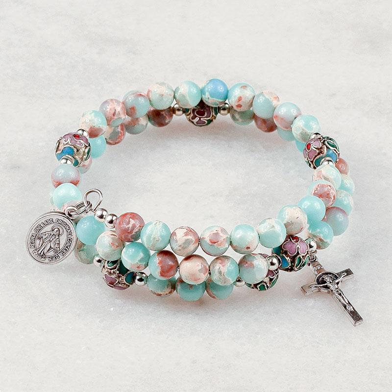 Imperial Jasper Rosary Bracelet