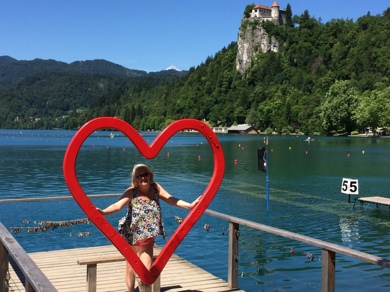 So without sounding like everyone else, bled is a must visit place, it was on Michele's list right from the start, but be warned its busy busy busy !!