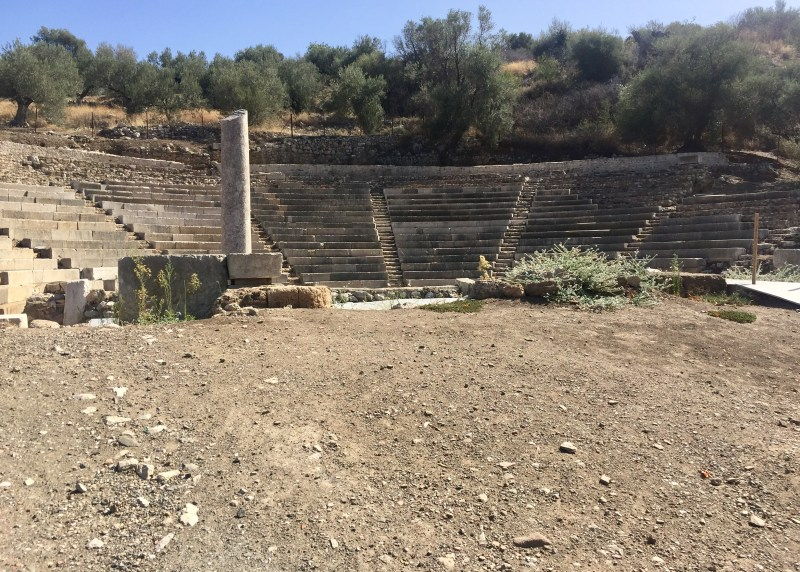Small theatre Epidaurus, Greece