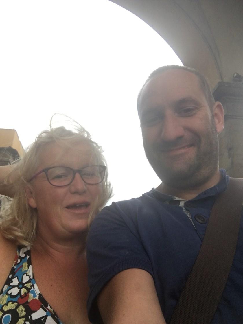 -Ponte Vecchio Florence Italy - ourleapoffaith selfie