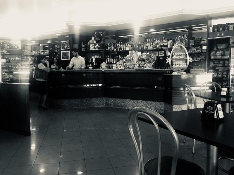 Inside Caffe Royale Monte Cassino, Italy