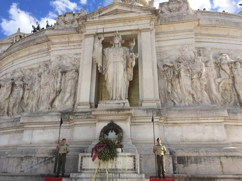 Tomb of unknown soldier- Victor Emmanuel Monument