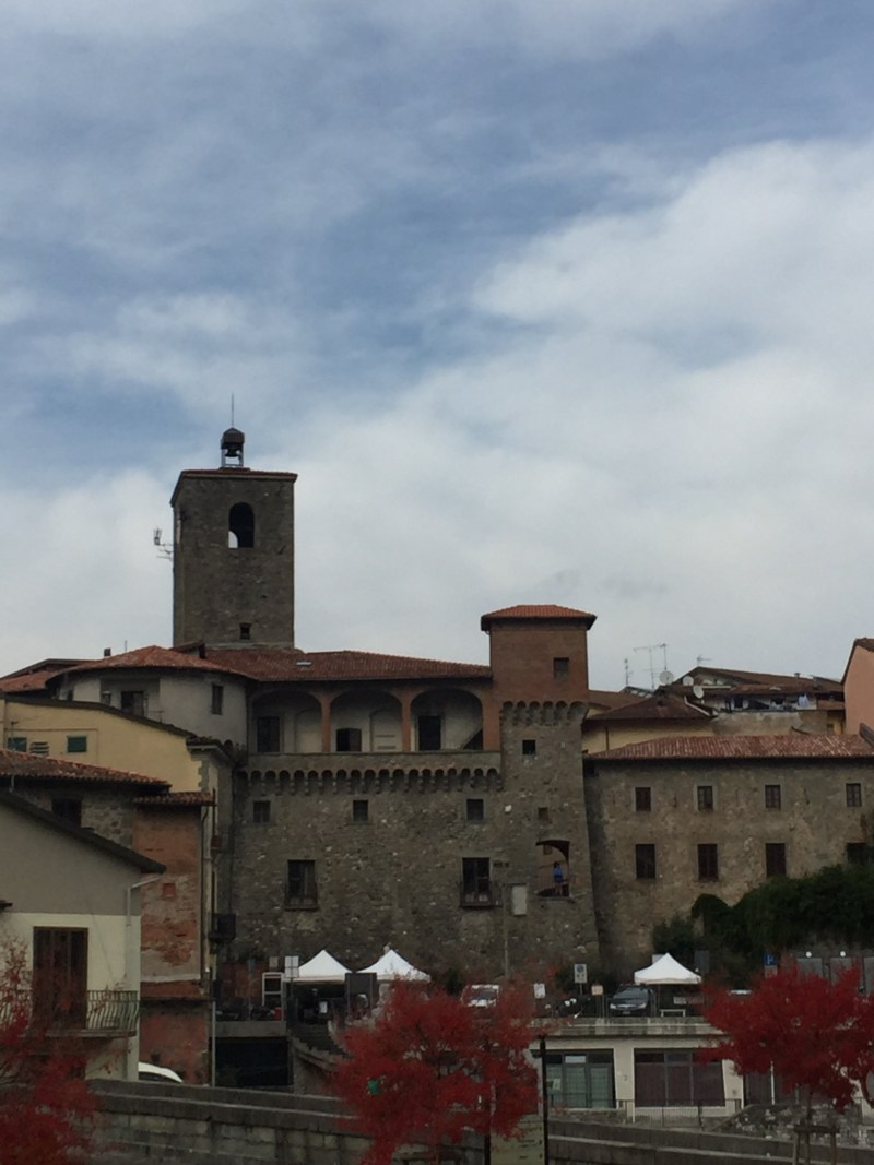 Main town view of Castelnuovo di Garfagnana, Italy - epic motorhome blog