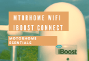 Motorhome WiFi -iBoost connect fitting and user guide.