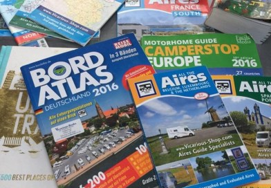 Motorhome essentials – Where to stay and how we find them