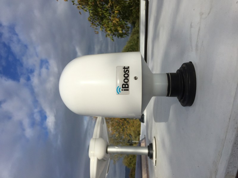 IBoost device mounted in the roof