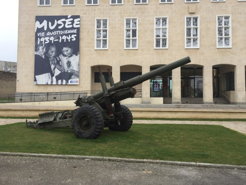 Ww2 gun In Falaise France