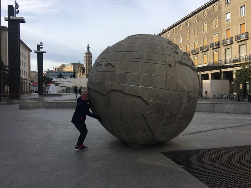 Plaza del Pilar, Zaragoza Spain