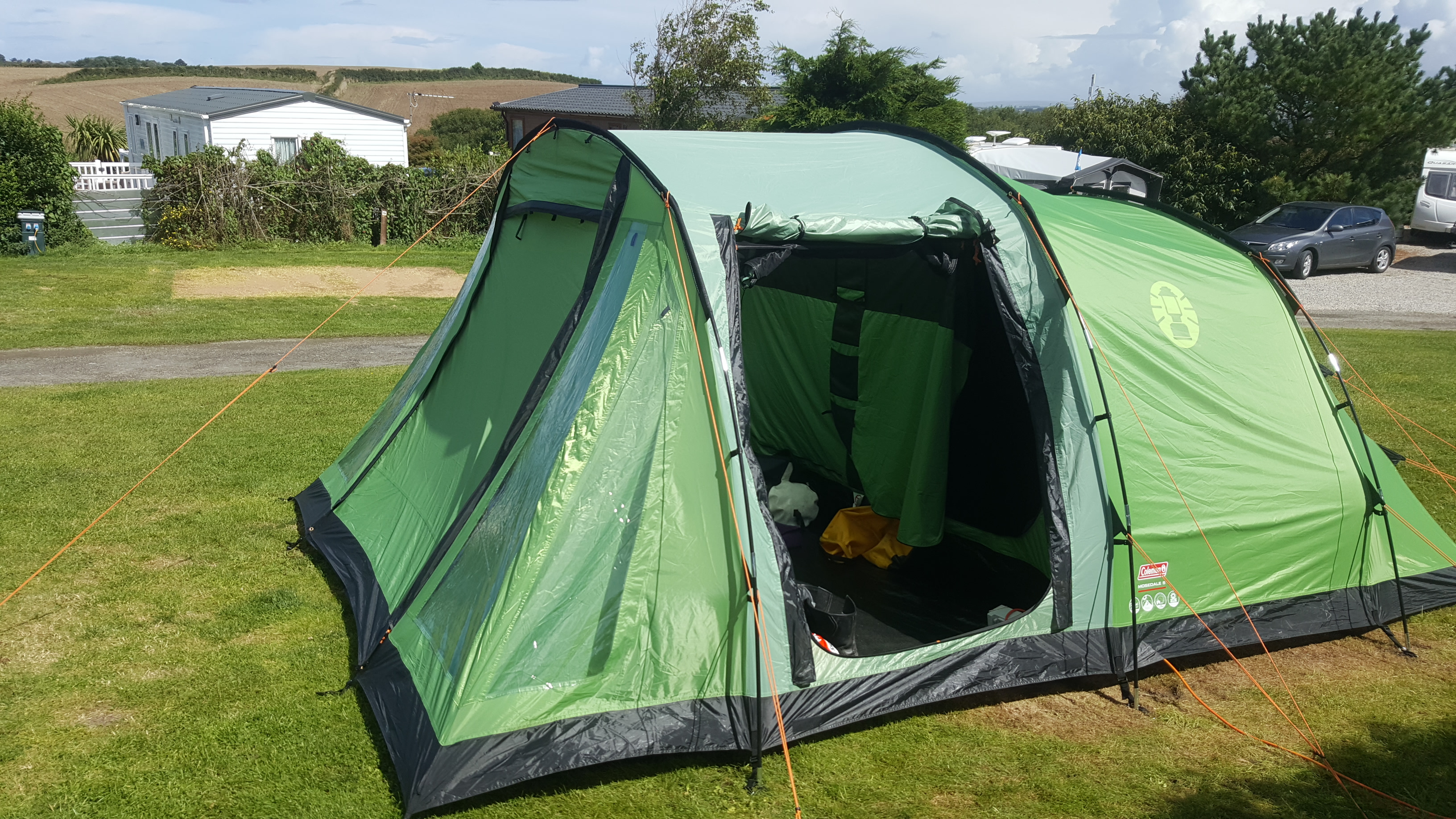 Share this & The Coleman Mosedale Tent u2013 Our life with bikes a Blog by Carol ...