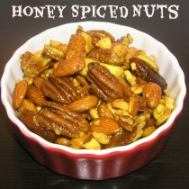 Honey Spiced Nuts