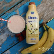 Kefier Strawberry Banana Smoothie