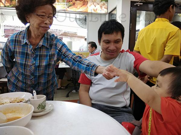 JB Trip Grandma Restaurant Ah Koong Taman Sentosa