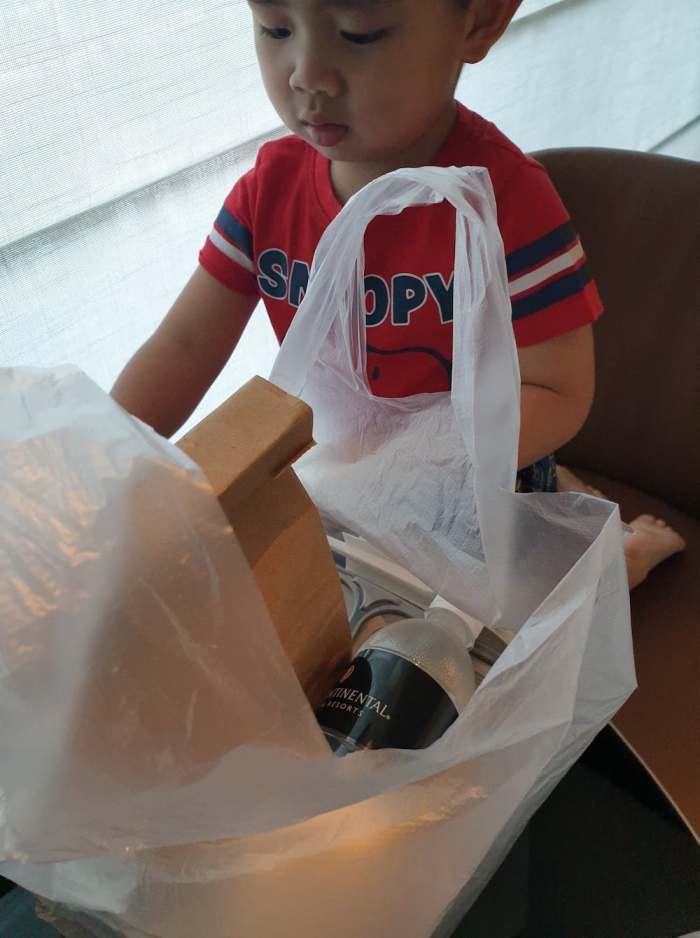SHN meal packaging