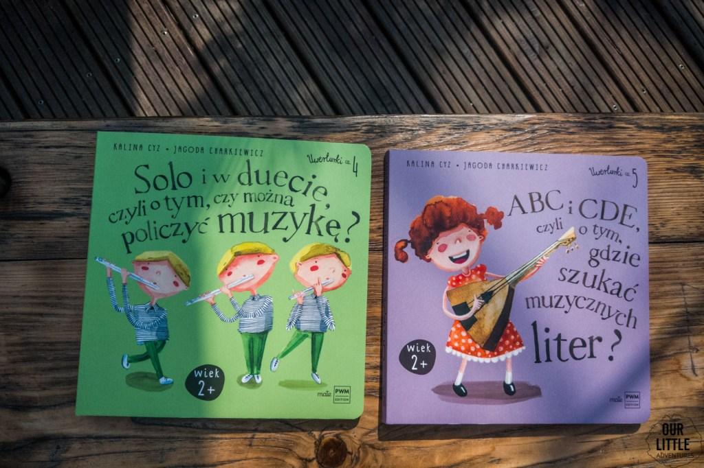 Książki o muzyce dla dzieci, Uwerturki, Polskie Wydawnictwo Muzyczne