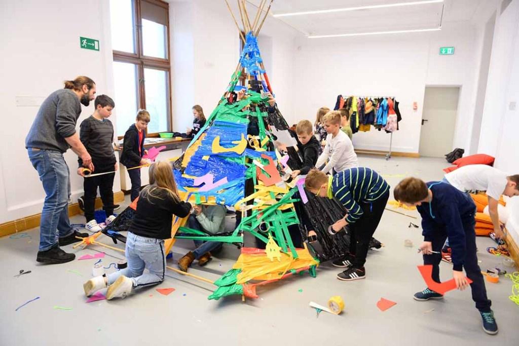 W U-Jazdowskim o sztuce mówi się prostym i dostosowanym do potrzeb małego dziecka językiem