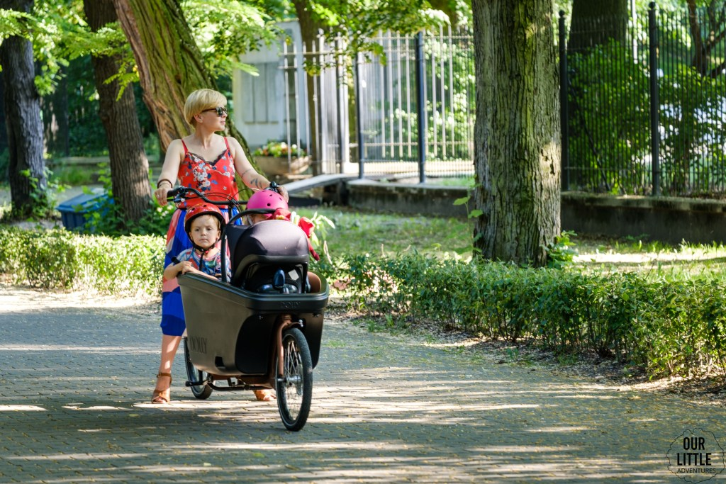 Rower cargo Dolly Bikes, Our Little Adventures