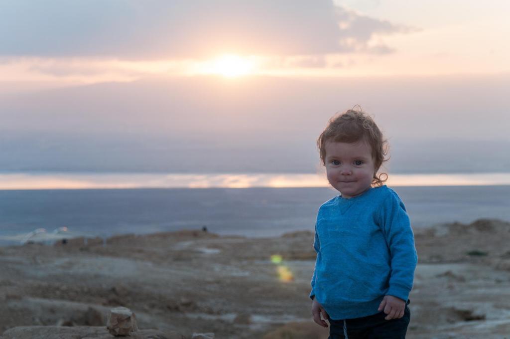 Siedem światów, jedna planeta - Masada, Izrael, Rodzinne podróże