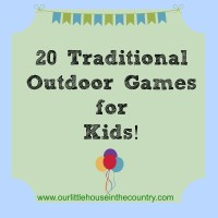 20 Outdoor Games for Children