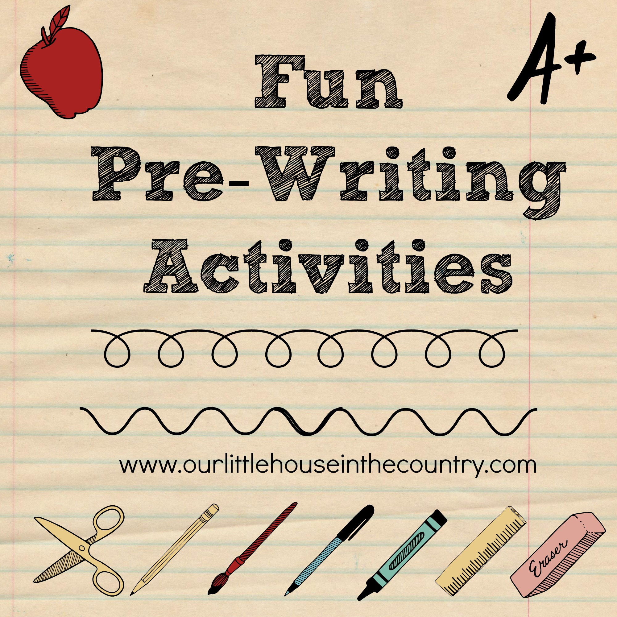 Fun Pre Writing Activities Early Literacy Amp Fine Motor Skills Development