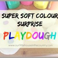 Super Soft Colour Surprise Playdough