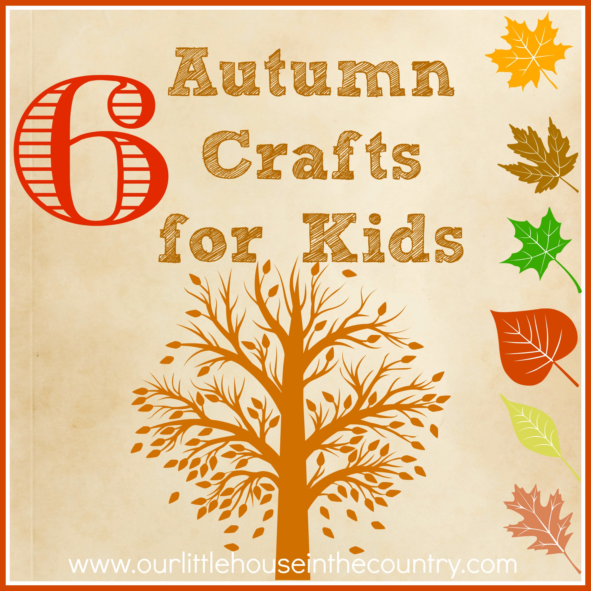 6 autumn fall crafts