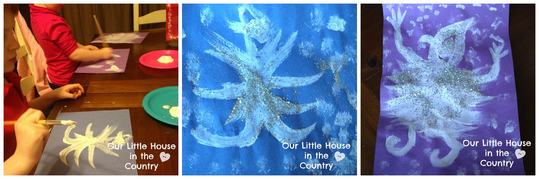 Sparkly Winter Art Based On Jack Frost By Kazuno Kohara