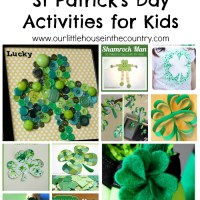 St Patrick's Day Shamrock Crafts for Kids
