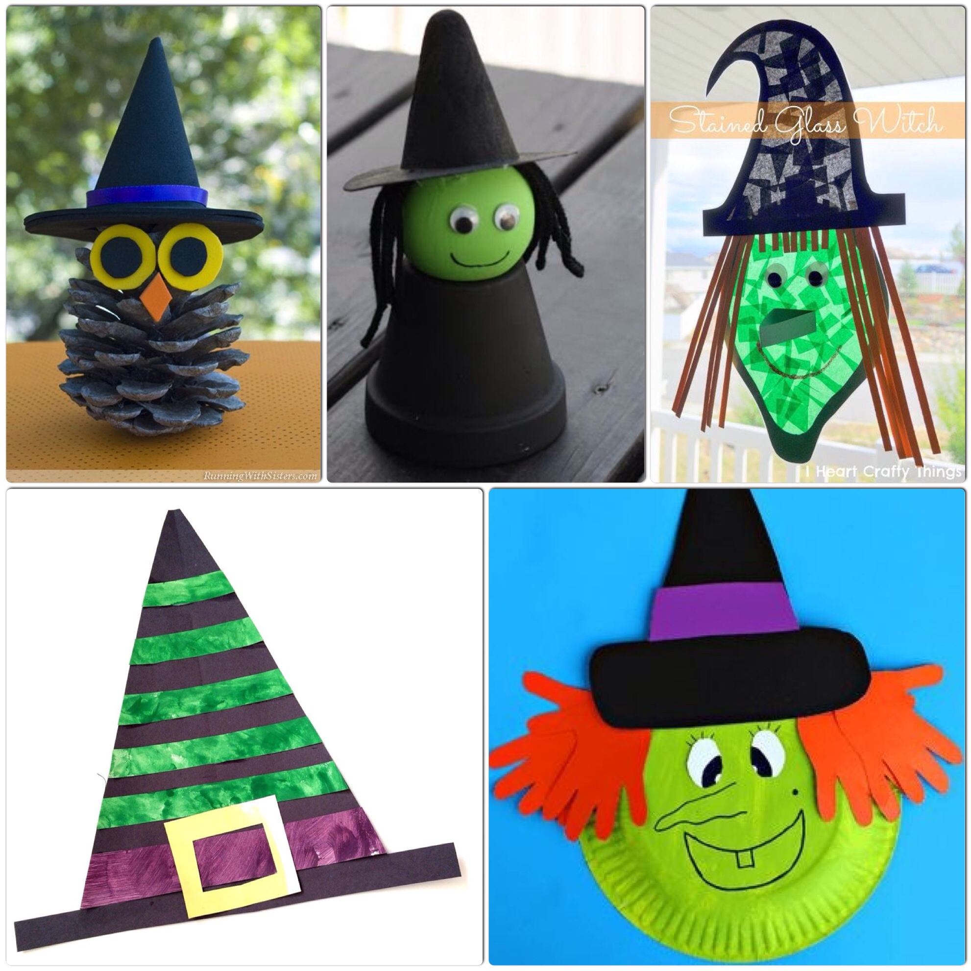 Witch Crafts For Kids More Halloween Fun